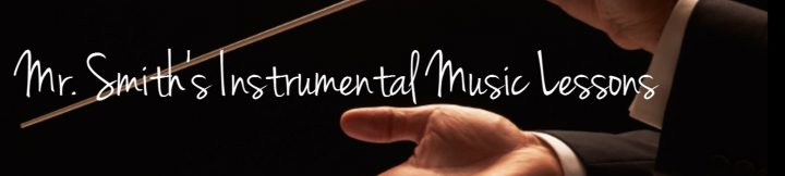 Mr. Smith's Instrumental Music Lesson